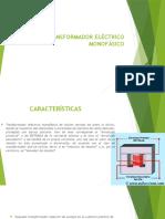 TRANSFORMADOR-ELÉCTRICO-MONOFÁSICO
