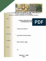 Prospección Del Cuadrangulo 25-ñ