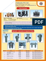 Filters, Accumulators, Oil Filteration Plant, Cylinders, Jacks, Clamping Cylinders, Torque Wrench, Oil Level Indicators, Valves, Couplings, Fittings.