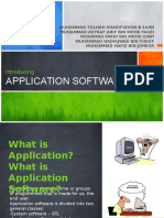 (Group 3) Application Software