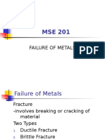 Failure of Metals