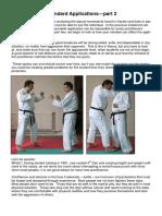 Karate- Standard Applications Part 2
