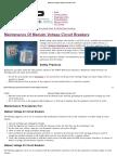 Maintenance of Meduim Voltage Circuit Breakers _ EEP