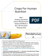 Golden Crops for Human Nutrition