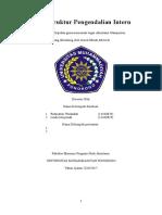 Studi Struktur Pengendalian Intern