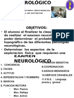 1. EXAMEN NEUROLOGICO