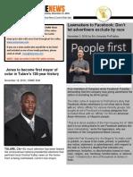ONME News Print Edition -- Monday, November 21, 2016