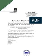 Certificate IEC VDR-opto