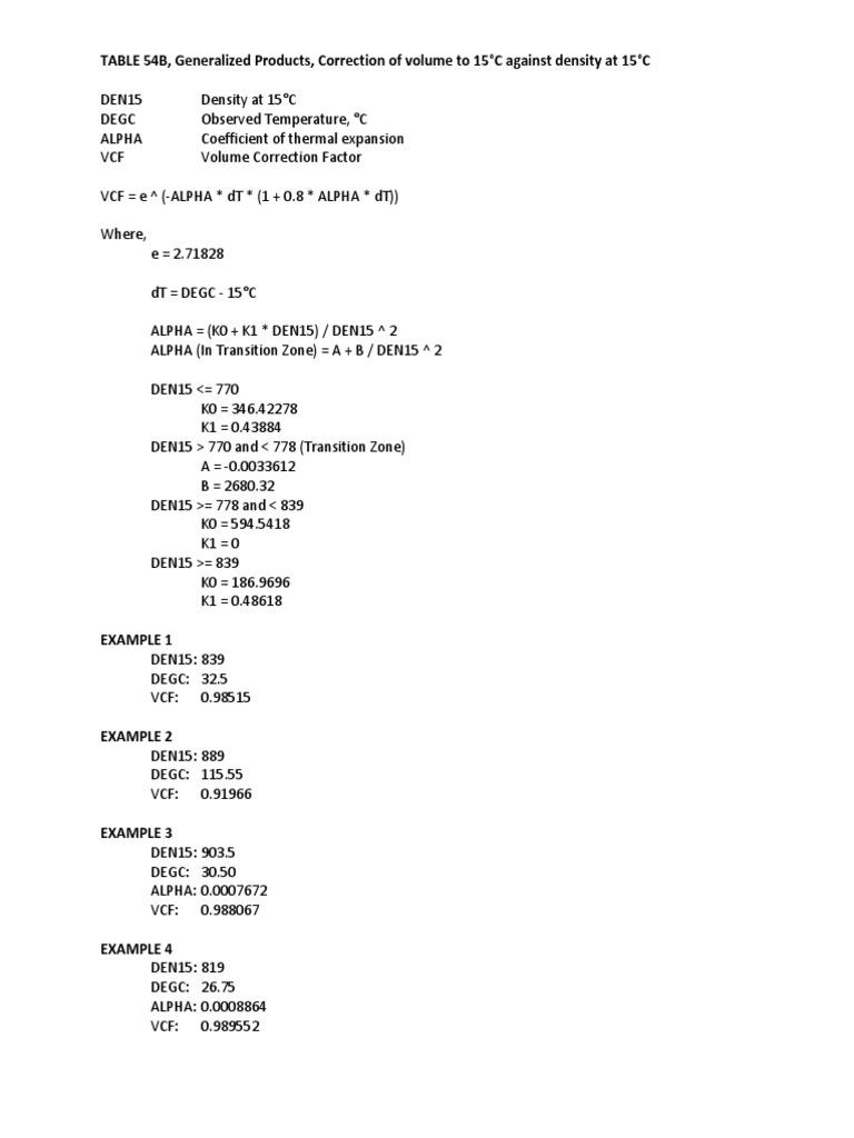 Table 54b Pdf