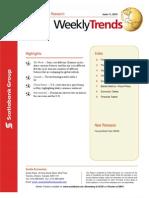 ScotiaBank JUN 11 Weekly Trend