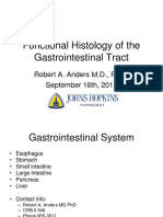 Histology of Gastrointestinal Track