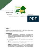 Procesos de Produccion Ejercicios Resueltos de Estadistica Descriptiva