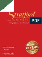 Stratford University VA Catalog