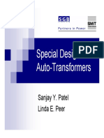 PES Oct8 SpecialDesigns Autotransformers