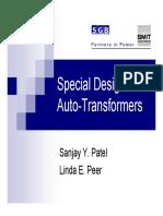 PES Oct8 SpecialDesigns Autotransformers