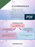 Primary Dysmenorrhea