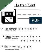ABC Letter Sort