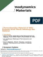 Termodinamika Material 1