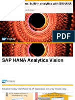 Providing Real Time Built in Analytics With S4HANA