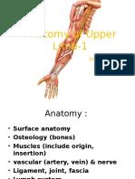 Anatomy of Upper Limb-1 EDITAN HEMAT