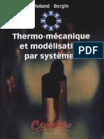 Thermo-mécanique et modélisation par systèmes - Cépaduès