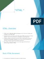HTML - ppt