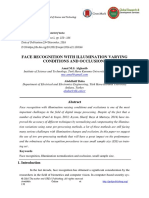 Face Recognition With Illumination Varying Conditions and Occlusions
