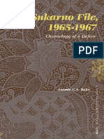 The Sukarno File 1965-1967 Chronology of a Defeat