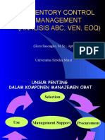 3 Inventory Control Management