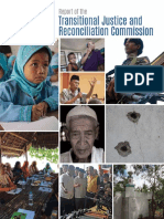 Transitional Justice and Reconciliation Report