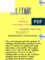 Vector Group of Transformers
