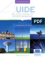 Fnccr - Guide Elu - E-communications 2014