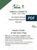 Kabala y Exodo 11