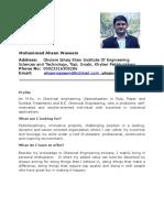(499562980) Chemical Engineering CV