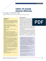 The Identification of Young Peoples Emot