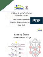 Kabala y Exodo 14