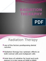 Radiation Theraphy