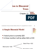 Binomial Pricing Method