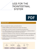 15th November 2016 - Phar01 - Drugs for the Gastrointestinal System