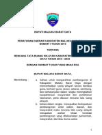 Maluku Perda Rtrw Mbd
