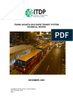 TransJakarta Technical Review