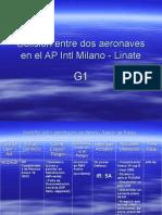 Colisión Entre Dos Aeronaves en El AP Intl