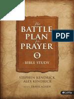Battle Plan for Prayer Study Samplepdf