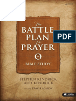 Battle Plan for Prayer Study Samplepdf