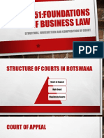 LAW 251 Structure and Composition of Courts