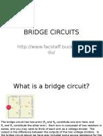 Week 02 Resistance Measurements Bridge Circuits Lecture - Ece132 1t 2015-16