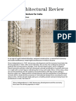 Towards an Architecture for India _ Thinkpiece _ Architectural Review
