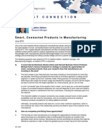 IDC Smart Connected Products in Manufacturing