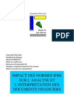 Impact Des Normes IFRS