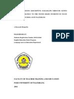 Research Design (Diah Hermiati, 2012111044)